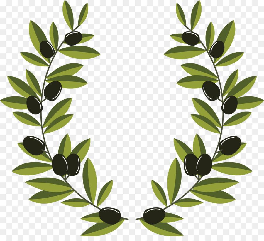 corona de olivos